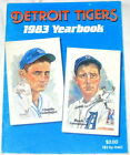 DETROIT TIGERS 1983 OFFICIAL YEARBOOK- ORIGINAL - VHTF