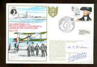 FDC RN series 3 #18  1ST DECK LANDING ON HMS FURIOUS