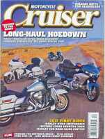 MOTORCYCLE CRUISER Magazine DECEMBER 2011 (NEW COPY)