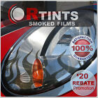 Ghost Flame Tint Graphics Decal Kit Head Tail Fog Light Kit Mercury