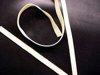 Latex Rubber Trim Strips .50mm Thick,5mm x200cm, White