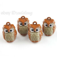 25x Coffee Owl Jingle Bells Fit Festival/Party 270012