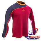 Bukta Odyssey Long Sleeve Football Shirts - Claret / Navy / Gold - rrp£25