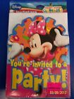 Minnie's Clubhouse Minnie Mouse Disney Birthday Party Invitations w/Envelopes