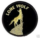 CAFE RACER ROCKERS FOREVER LONE WOLF HOG OUTLAW BIKER PATCH 3 inch