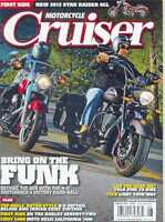 MOTORCYCLE CRUISER Magazine AUGUST 2012 (NEW COPY)