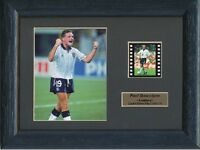 PAUL GASCOIGNE ENGLAND ITALIA 90 FRAMED 35MM FILM CELL GREAT GIFT