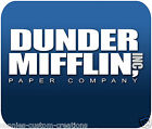The Office Mouse Pad Mousepad Dunder Mifflin Paper Company Art TV Gift New