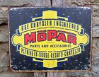 Vintage Style Mopar Chrysler Cars Parts Metal Sign Ad Retro Garage Decor USA 11""