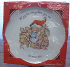 Kewpie Christmas Plate1973 Rose ONeill Santa Claus Let Joy be Everywhere You Are