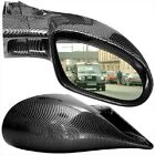 M3 Carbon Fibre Wing Door Mirrors Left & Right Manual Vauxhall Corsa C 2000 2006