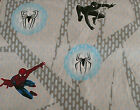 1 YARD OF SPIDER-MAN 3 FABRIC Double Trouble Black Spiderman/Venom Material NEW