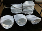 """Lot of 21 7"""" x 16"""" Singed polyester Filter Bags Biodiesel SVO Water 100"""