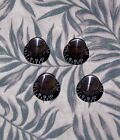Classic Blk Reflector Knobs for Gibson, Parts Project