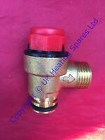 Ideal Logic 24 E24 30 E30 35 & E35 Pressure Relief Safety Valve 175413
