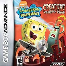 New In Sealed Box Sponge Bob: Creature from the Krusty Krab Game boy Advance