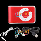 Hi-Power Clip MP3 Player Micro Support 1GB 2GB 4GB 8GB TF Card 5 Colors #C SSCA
