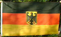 NEW 5 x 3 FOOT (150x90cm) GERMAN STATE WITH EAGLE GERMANY DEUTSCHLAND FLAG