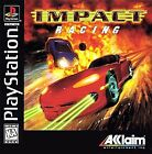 Impact Racing SONY PLAYSTATION PS1 / PS2 PS3 video game COMPLETE CIB