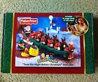 NEW NIB FISHER PRICE LITTLE PEOPLE THE NIGHT BEFORE CHRISTMAS STORY BOOK SET TOY