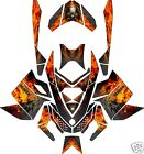 GRIM REAPER SLED WRAP for SKI-DOO XP 2008-12, mxz, summit, renegade, decal