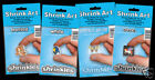 6 SMALL FROSTED SHRINKLES SHRINKIE SHRINK ART CARD MAKING 101MM x 131MM