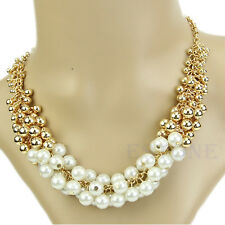 Good Beautiful Delicate Occident Style Hyperbole Multilayer Pearl Necklace
