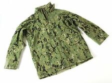 US Navy NWU Type III Goretex Parka Waterproof Rain Jacket Green Digi AOR2
