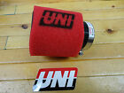 """UNI UNIVERSAL ANGLED 2 STAGE POD AIR FILTER FITS 2 1/4"""" OR 57mm FREE SHIPPING!"""