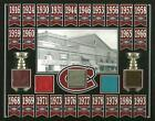 CANADIENS 24 STANLEY CUP CHAMPIONS 8x10 BANNER PHOTO W/ 5 MONTREAL FORUM SEAT