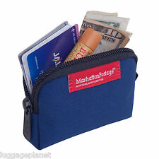 Manhattan Portage Zippered Coin Purse Change Holder, Credit Card Holder 1008