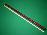 New Red Stained McDermott L5 Pool Cues Star Billiards Sticks Que Free Shipping!