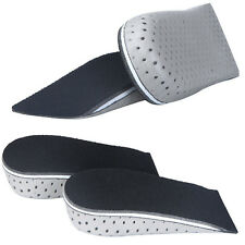 Men Increase Height Half Insoles Memory Foam Shoe Inserts Cushion Pad S/M/L