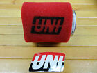 """UNI UNIVERSAL 2 STAGE AIR FILTER FITS 57mm OR 2 1/4"""" CARB FLANGE FREE SHIPPING"""