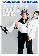 DVD: I NOW PRONOUNCE YOU CHUCK & LARRY [ADAM SANDLER,KEVIN JAMES] F/S NEW