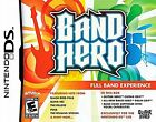 Band Hero  (Nintendo DS, 2009) full band experience for nintendo ds guitar hero