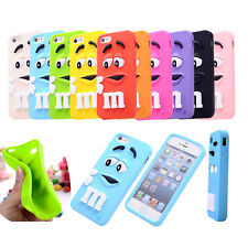 Colorful Beans Silicone Case Cover for iPhone 4 5 6 6Plus 6S Skin Protector