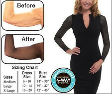 2pcs Lace Amazing Arms Lightweight Armwear From Flab to Fab Thinner Slimmer Arms