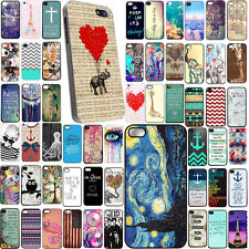 Hot New Pattern Hard Back Case Cover For iPhone 5 5S 5C  Iphone 6 6plus 4 4s CA4