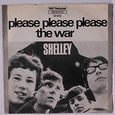 SHELLEY: Please Please Please / The War 45 (Germany, PS light wrinkles) rare Ro