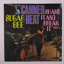 Canned Heat: Sugar Bee / Shake It And Break It 45 (Germany, Ps very sl cw) rar