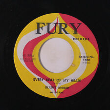 GLADYS KNIGHT & PIPS: Every Beat Of My Heart / Room In Your Heart 45 (few sm la