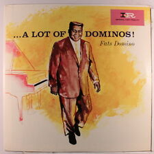 FATS DOMINO: A Lot Of Dominoes! LP (Canada Mono, original maroon label scuffed