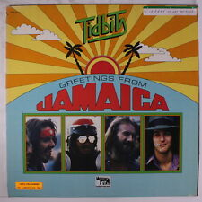 TIDBITS: Greetings From Jamaica LP (sm library tags oc, v. sl cw, sm spine tear