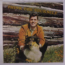 GARY FERGUSON: Think For Yourself LP Sealed (drill hole, shrink partially off)