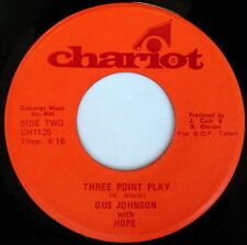 GUS JOHNSON WITH HOPE: Three Point Play / What's Happening 45 Soul