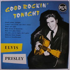 "ELVIS PRESLEY: Good Rockin' Tonight LP (France re, 10"") Rockabilly"