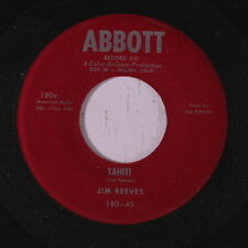 JIM REEVES: Tahiti / Give Me One More Kiss 45 (dj) Country
