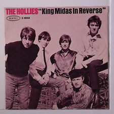 HOLLIES: King Midas In Reverse / Water On The Brain 45 (PS-only no 45 disc) Roc