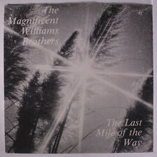 WILLIAMS BROTHERS: The Last Mile Of The Way LP (drill hole) Black Gospel